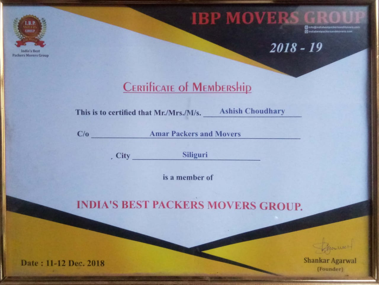 Amar Packers and Movers